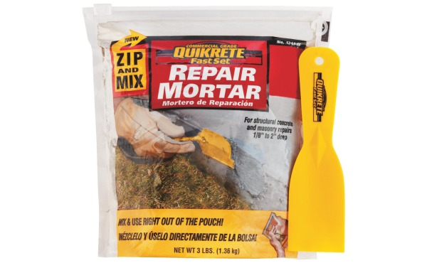 Quikrete Zip & Mix Mortar 3-Lb. Repair Mortar Mix