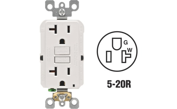Leviton Self-Test 20A 5-20R GFCI Outlets