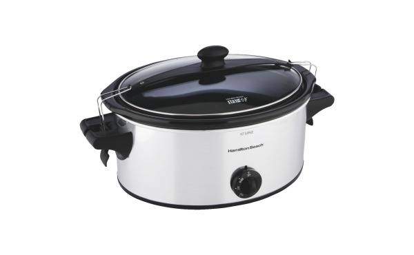 Hamilton Beach 6-Qt. Stainless Steel Slow Cooker