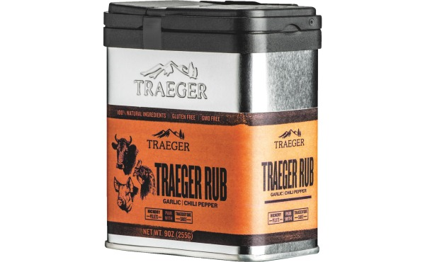 Traeger 9-Oz. Garlic & Chili Pepper Flavor Rub